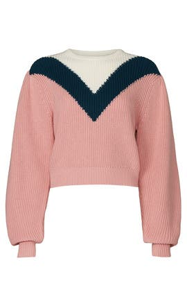 Intarsia Sweater by Victor Glemaud