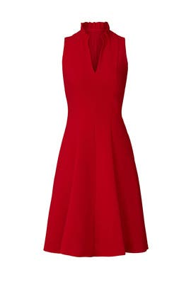 Red Antoinette Dress by Black Halo