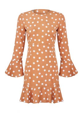 Dots Flounce Dress by byTiMo