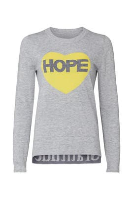 Hope Graphic Sweater by Victor Alfaro Collective