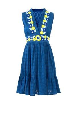 Blue Diana Dress by Banjanan
