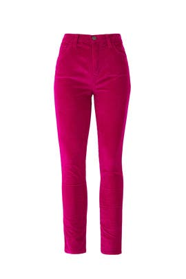 The Stiletto Pink Corduroy Jeans by Current/Elliott