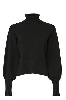 High Low Turtleneck Sweater by Marissa Webb Collective