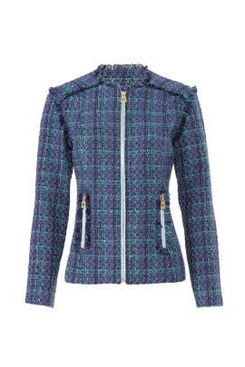 Plaid Tweed Jacket by Sail to Sable