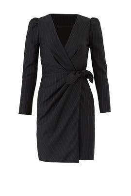 Burton Wrap Dress by ba&sh