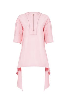 Pink High Low Top by Cedric Charlier