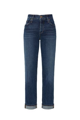 The Niki Boyfriend Turn Up Cuff Jeans by Joe's Jeans