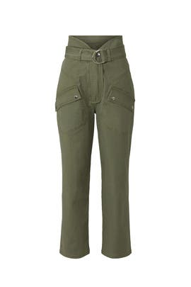 Olive Canvas Pants by Marissa Webb Collective