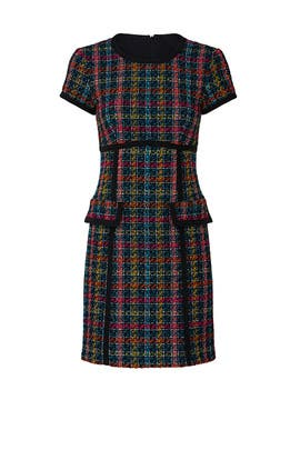 Colorful Tweed Dress by Nanette Lepore