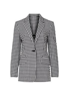 Ames Gingham Blazer by rag & bone