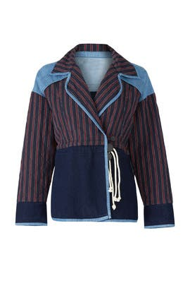 Denim Viv Jacket by Tanya Taylor