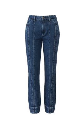 3x1 x Jason Wu Denim Trousers by 3x1