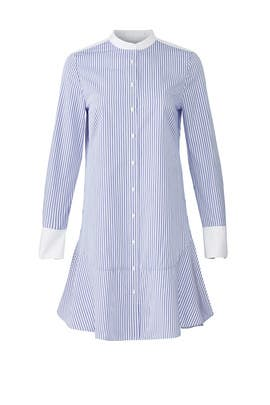 Cora Stripe Shirtdress by Tory Burch