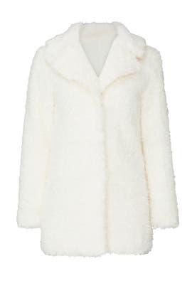 Moda Faux Fur Coat by Wish