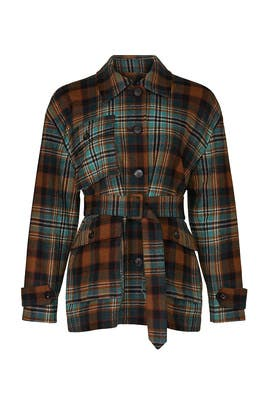 Flannel Plaid Jacket by Co