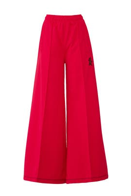 High Waisted Flare Pants by Marni