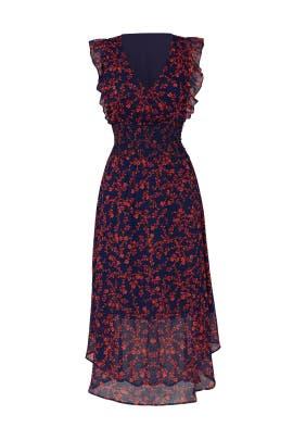 Smock Waist Midi Dress by Slate & Willow
