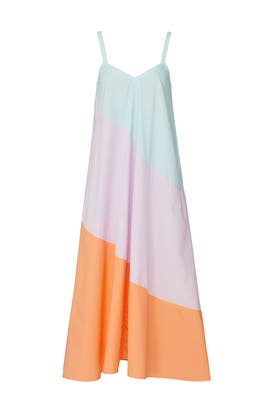 Summer Pastel Fiesta Dress by VEDA