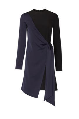 Wrap Panel Dress by Victoria Victoria Beckham