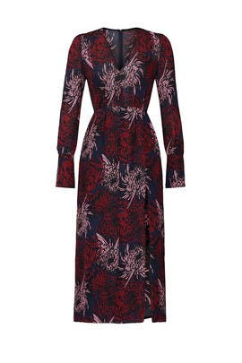 Printed Bailey V-Neck Dress by A.L.C.