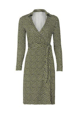 New Jeanne Two Silk Wrap Dress by Diane von Furstenberg
