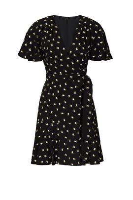 Mini Floral Wrap Dress by Jill Jill Stuart