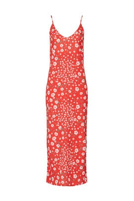 Red Valencia Dress by ROAM