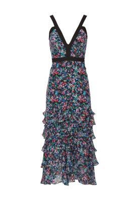 Jewel Rosette Lana Dress by SALONI