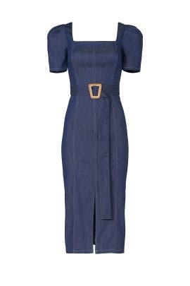 Denim Candelaria Dress by Shoshanna