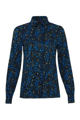 Floral Lucian Top by STINE GOYA