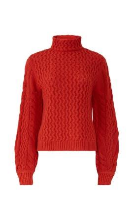 Spice Oversized Sweater by Victoria Victoria Beckham
