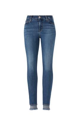Hewes 835 Crop Skinny Jeans by J BRAND