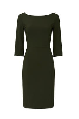 Green Madison Dress by Of Mercer