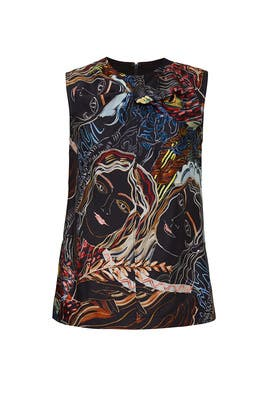 Abstract Printed Top by 3.1 Phillip Lim