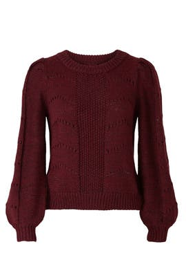 Pointelle Sweater by Peter Som Collective