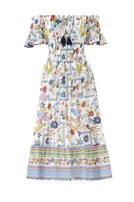 Meadow Folly Dress by Tory Burch