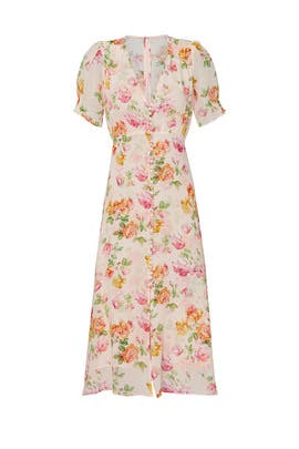 Button Front Robe Dress by The Kooples