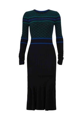 Novelty Rib Knit Dress by Opening Ceremony