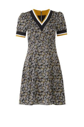 Varsity Trim Floral Dress by Slate & Willow