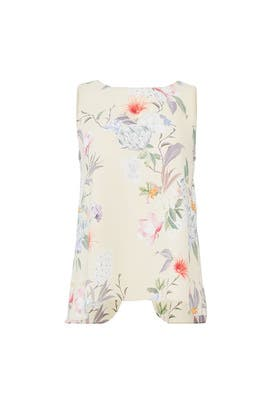 Floral Utica Top by Amanda Uprichard