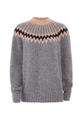 Knit Olympia Sweater by Jason Wu