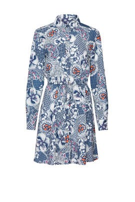 Zen Garden Floral Shirtdress by Slate & Willow