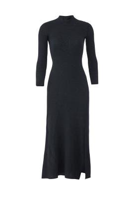Rib Flounce Dress by Theory