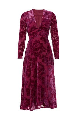 Carroll Velvet Dress by Yumi Kim
