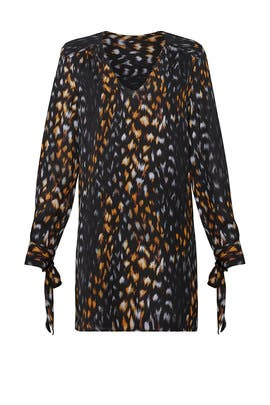 Animal Print Shift by Equipment