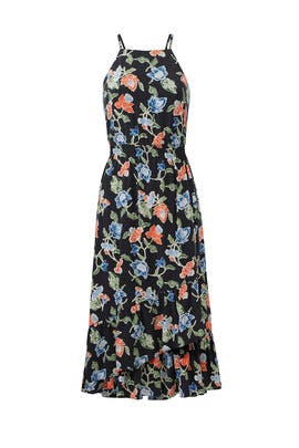 Floral Deme Dress by Joie