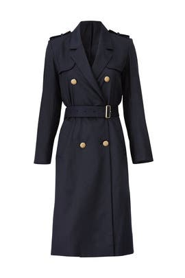 Navy Chic Trench Coat by The Kooples