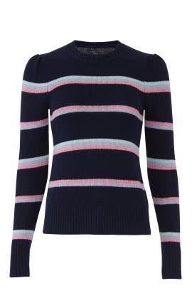 Multi Stripe Pullover by La Vie Rebecca Taylor