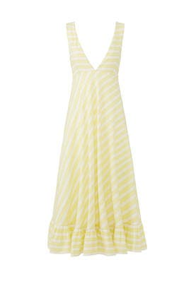 Ali Ruffled Hem Dress by Line + Dot
