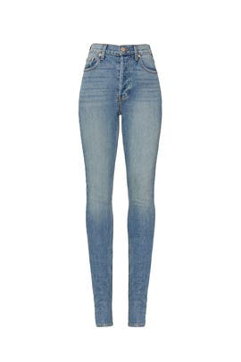 Augustine High Rise Skinny Jeans by Midheaven Denim